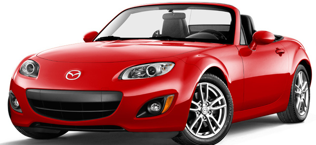 2012 Mazda MX-5 Miata, Front quarter view. , exterior, manufacturer