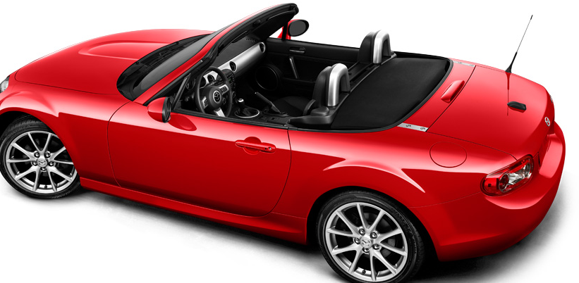 2012 Mazda MX-5 Miata, Back quarter view. , manufacturer, exterior