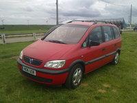 1999 Vauxhall Zafira Overview
