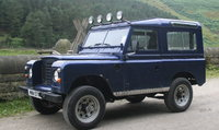 1972 Land Rover Series III, This one had a 200TDi engine. (They are better with the original.), exterior