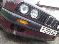 1988 BMW 3 Series 316i, Front, exterior