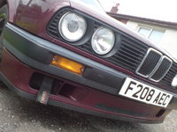 1988 BMW 3 Series 316i, Front, exterior