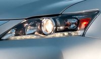 2012 Lexus CT 200h, Close-up of headlight. , manufacturer, exterior