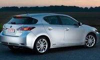 2012 Lexus CT 200h, Back quarter view., exterior, manufacturer