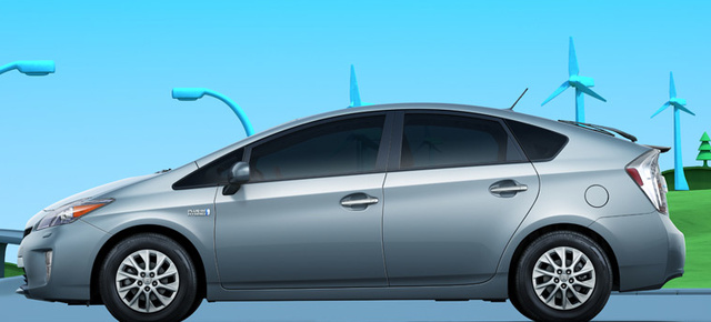2012 Toyota Prius, Side View. , exterior, manufacturer