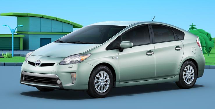2012 Toyota Prius, Front quarter view. , exterior, manufacturer