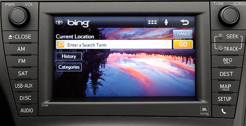 2012 Toyota Prius, Navigation System., interior, manufacturer