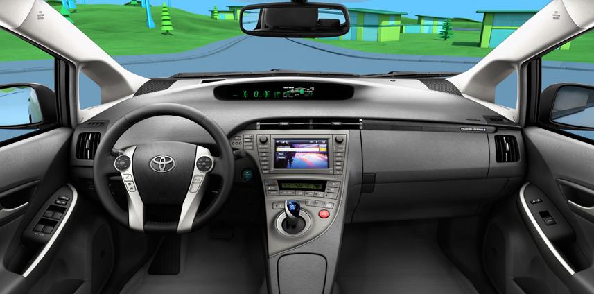 2012 Toyota Prius, Front Seat. , interior, engine, manufacturer