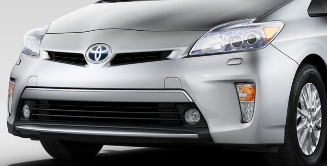 2012 Toyota Prius, Front Hood, exterior, manufacturer