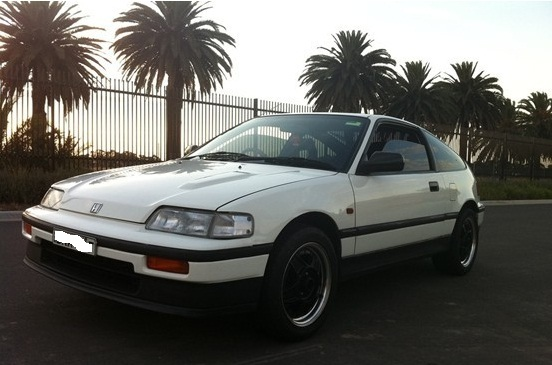 1989 Honda Civic CRX picture, exterior