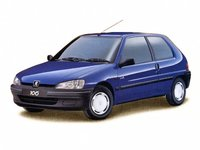1997 Peugeot 106 Picture Gallery