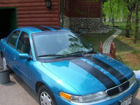1996 Mercury Mystique 4 Dr LS Sedan, Fresh racing stripes!, exterior, gallery_worthy