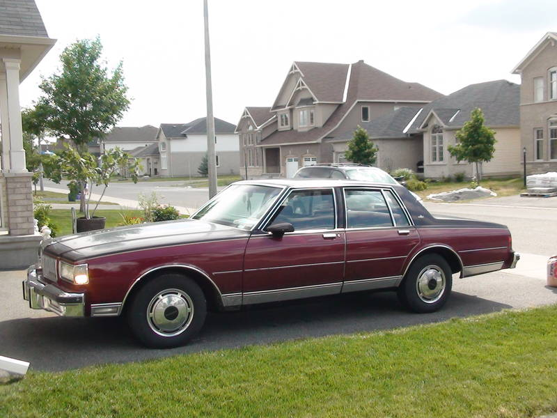 Picture of 1989 Chevrolet Caprice, exterior