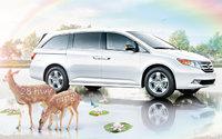 2012 Honda Odyssey, Side View. , exterior, manufacturer