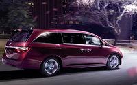 2012 Honda Odyssey, Back quarter view. , exterior, manufacturer