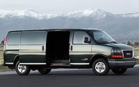 2012 GMC Savana Cargo, Side View with open door. , manufacturer, exterior, interior