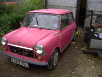 1974 Austin Mini Picture Gallery