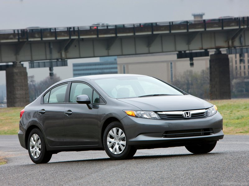 2012 Honda Civic DX picture, exterior