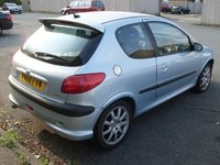 2001 Peugeot 206 Picture Gallery