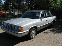 1983 Dodge Aries Overview