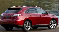 2012 Lexus RX 350, Back quarter view., manufacturer, exterior