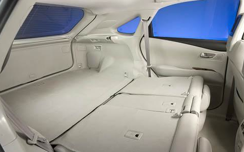 2012 Lexus RX 350, Trunk., manufacturer, interior