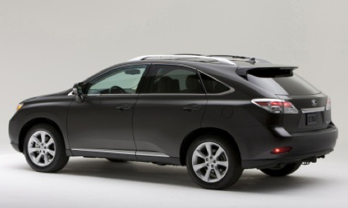 2012 Lexus RX 350, Back quarter view. , manufacturer, exterior