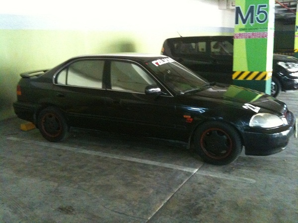 1996 Honda Civic EX, old pic... finally went wingless and adjusted the springs for a more aggressive stance..., exterior, gallery_worthy