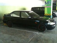 1996 Honda Civic EX, old pic... finally went wingless and adjusted the springs for a more aggressive stance..., exterior