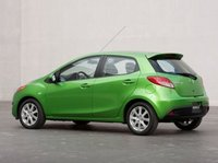 2012 Mazda MAZDA2, Back quarter view copyright AOL Autos. , manufacturer, exterior