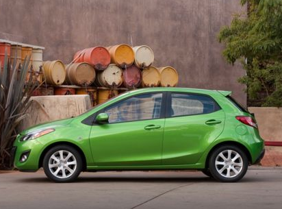 2012 Mazda MAZDA2, Side view copyright AOL Autos. , exterior, manufacturer