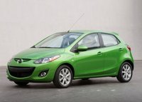 2012 Mazda MAZDA2, Front quarter view copyright AOL Autos. , manufacturer, exterior
