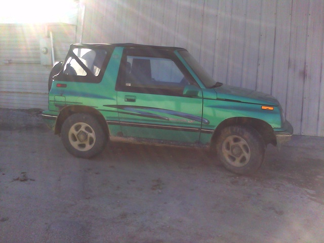 Geo Tracker Dr Lsi Wd Convertible Pic X
