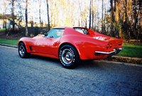 1973 Chevrolet Corvette Coupe, 1973 Corvette Stingray Coupe L-82, exterior
