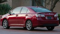 2012 Lexus ES 350, Back quarter view. , exterior, manufacturer