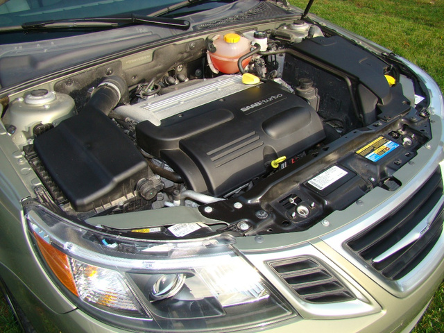 Picture of 2009 Saab 9-3 2.0T Touring Sedan, engine