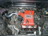 1985 Pontiac Fiero SE picture, engine