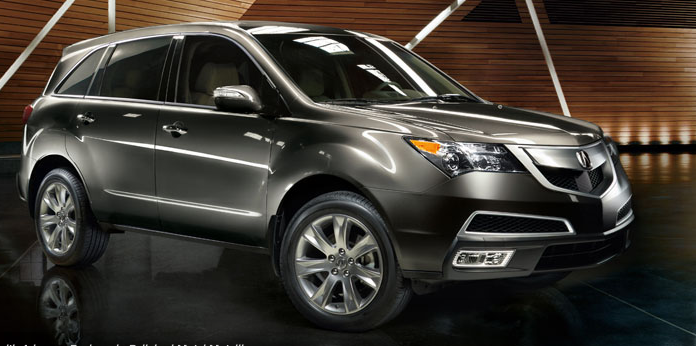 2012 Acura MDX, Front quarter view., exterior, manufacturer