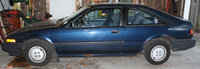 1987 Honda Accord DX Hatchback, Picture of 1987 Honda Accord Hatchback DX, exterior
