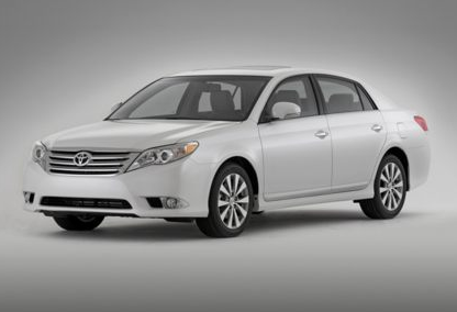 2012 Toyota Avalon, Front quarter view copyright AOL Autos. , exterior, manufacturer