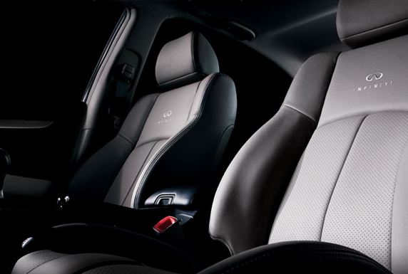 2012 Infiniti G37, Seat Close-up., manufacturer, interior