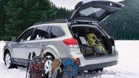 2012 Subaru Outback, Back quarter view, exterior, manufacturer