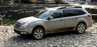 2012 Subaru Outback, Side View., exterior, manufacturer