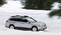 2012 Subaru Outback, Side View. , exterior, manufacturer
