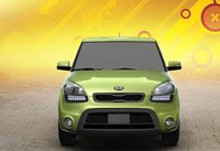 2012 Kia Soul, Front View., exterior, manufacturer, gallery_worthy