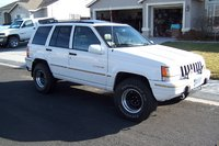 1995 Jeep Grand Cherokee Limited 4WD, 1995 Jeep Grand Cherokee 4 Dr Limited 4WD SUV wheel polished and repainted, exterior
