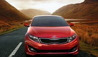 2012 Kia Optima, Front View. , manufacturer, exterior