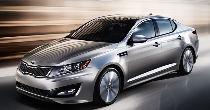 2012 Kia Optima, Front quarter view. , exterior, manufacturer