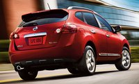 2012 Nissan Rogue, Back quarter view. , exterior, manufacturer