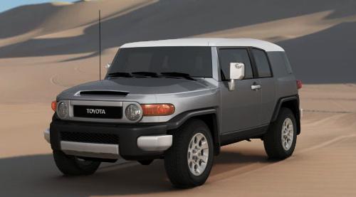 2012 Toyota FJ Cruiser, Front quarter view. , exterior, manufacturer